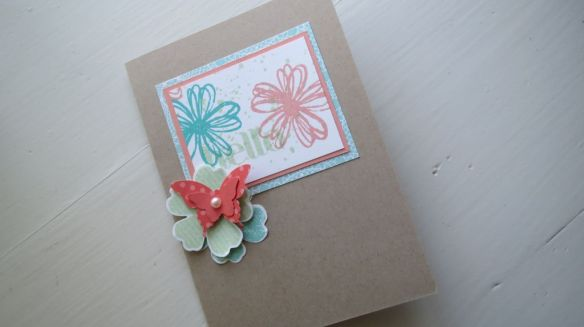hello flower card stempelwalkuere 1