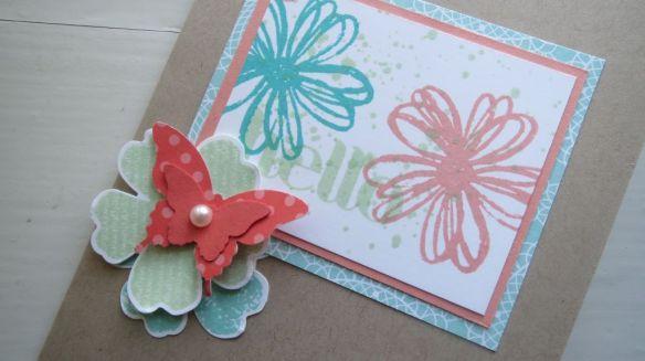 hello flower card stempelwalkuere 2