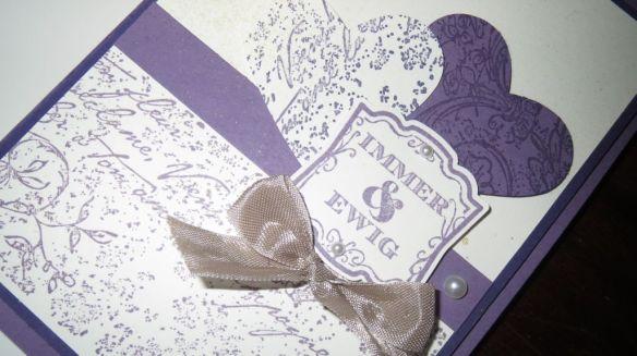 Pflaumenblau Hochzeit 1 Stemepelwalkuere