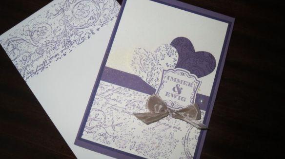 Pflaumenblau Hochzeit Einladung-Umschlag1a Stemepelwalkuere