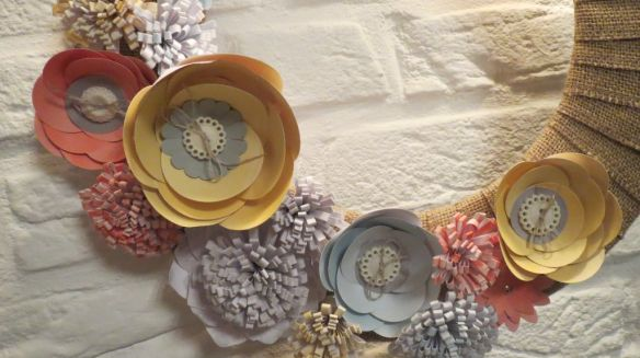 Simply Created Stempelwalkuere Burlap and Blooms