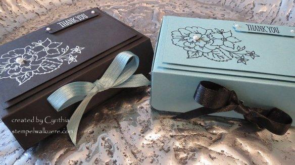 Black and lagunenblau Box I like you 3