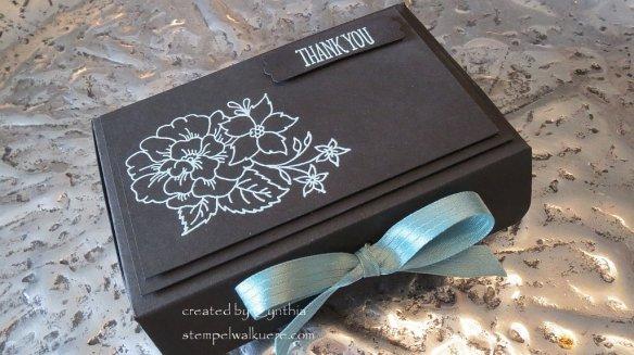 Black and lagunenblau Box I like you 4