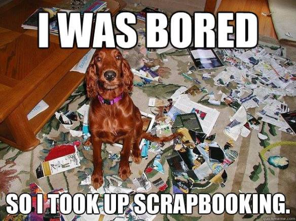 Dog Scrapbooking! Stempelwalküre