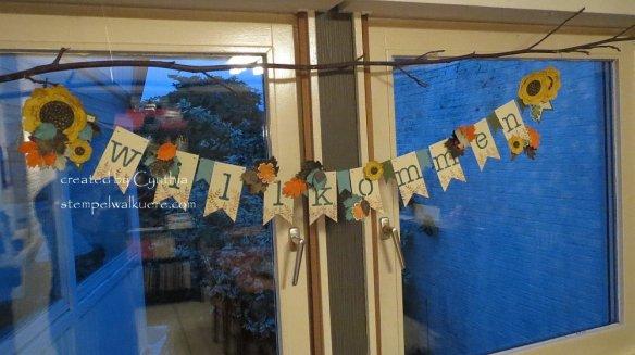 Willkommen Banner Herbst 2 a Stempelwalküere