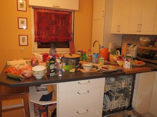 Cooking aftermath! Stempelwalküre