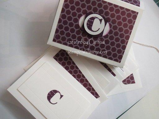 Hochzeits-Einladungen CS G. Geschenk Stempelwalküre 11