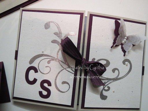 Hochzeits-Einladungen CS Stempelwalküre 1