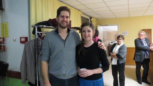 Pauline Feracci and Guilhem Terrail finalists Vienne en Voix