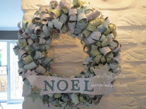 Wreath Noel Stempelwalkuere 1