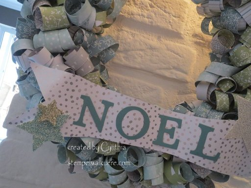 Wreath Noel Stempelwalkuere 4
