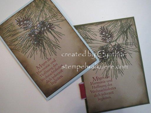 pine cone Stempelwalküre 1