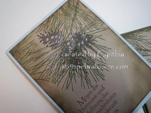pine cone Stempelwalküre 2