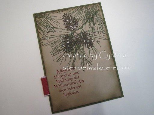 pine cone Stempelwalküre 3