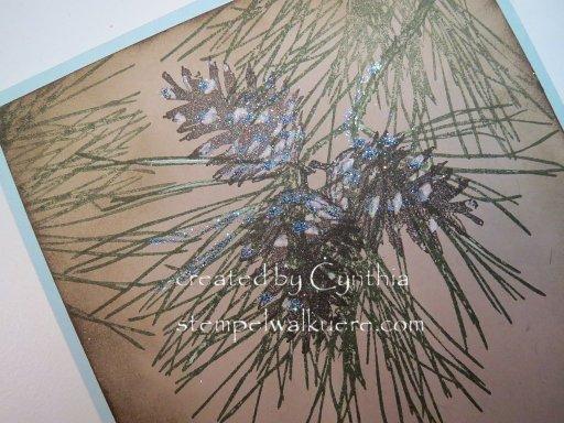 pine cone Stempelwalküre 4