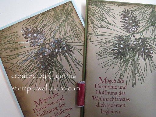 pine cone Stempelwalküre 5