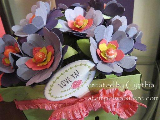 Basket Bouquet Stempelwalkuere 2
