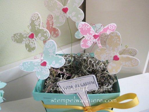 Basket full of Butterflies 3 Stempelwalküre