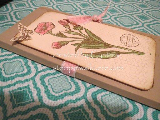 Notebook Schmetterlingsgruß 2 Stempelwalkuere