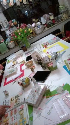 Frühlingsgrüße workshop Stempelwalküre 1
