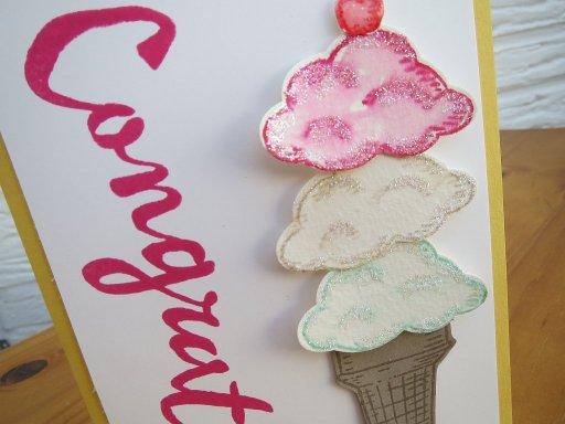 congrats ice cream 3 Stempelwalküre