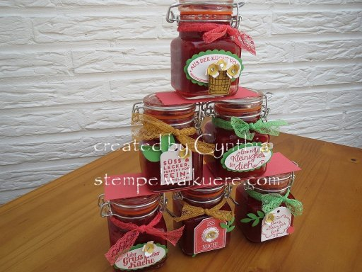 strawberry jam stempelwalküre 6