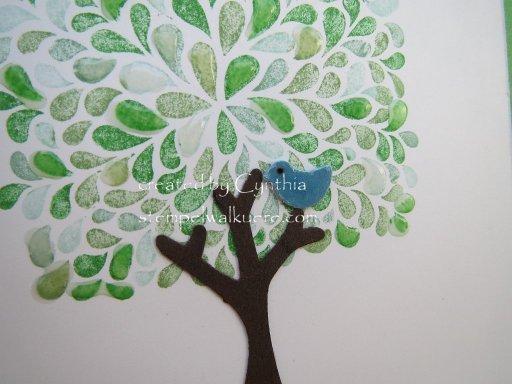 Thank you Baum Stempelwalküre 3