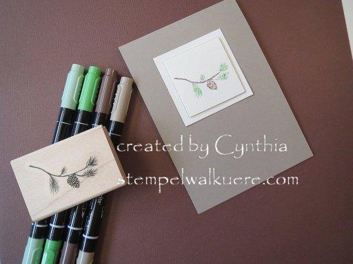 2015 Xmas cards Stempelwalküre 6d
