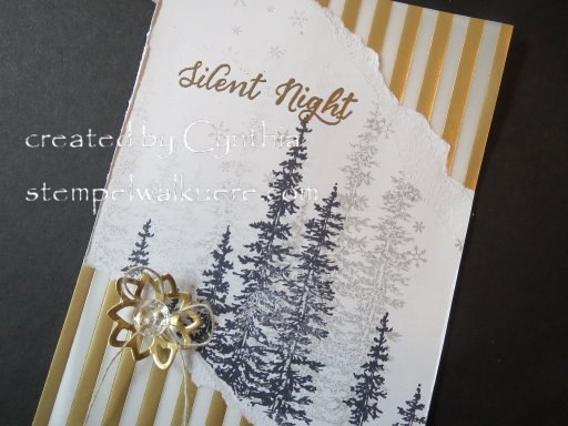 Silent Night Card Stempelwalküre 2