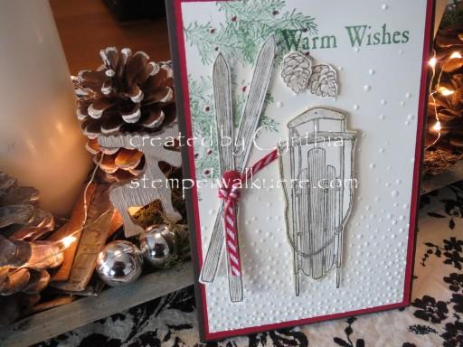 Warm wishes Card Stempelwalküre 4