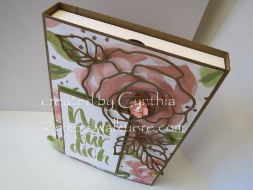 Card Box Rose Nur für dich Stemepelwalküre 2