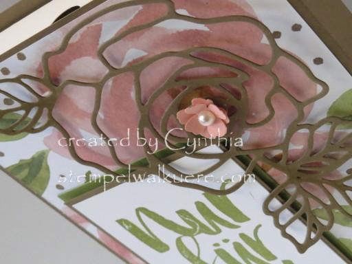 Card Box Rose Nur für dich Stemepelwalküre 3