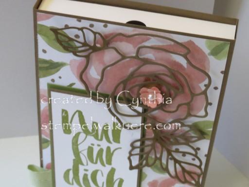 Card Box Rose Nur für dich Stemepelwalküre 4