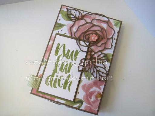Card Box Rose Nur für dich Stemepelwalküre 5