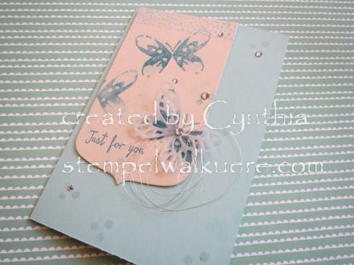 Aqua Card Stempelwalküre 1