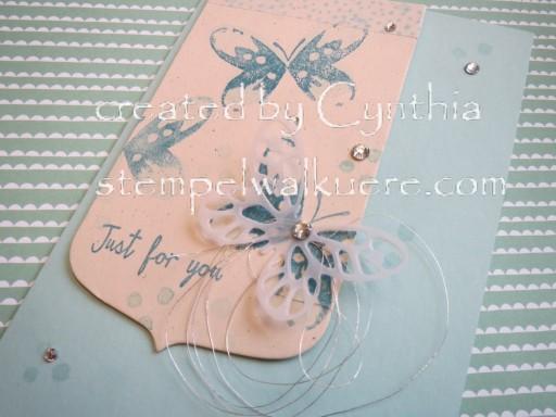Aqua Card Stempelwalküre 2