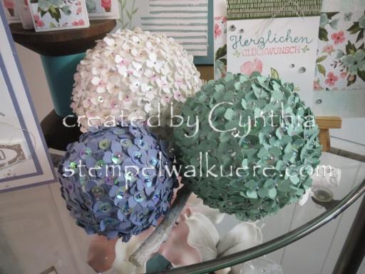 Flower Deko Balls Stempelwalküre 1