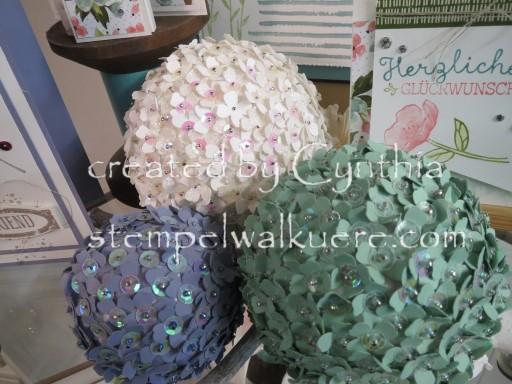 Flower Deko Balls Stempelwalküre 2