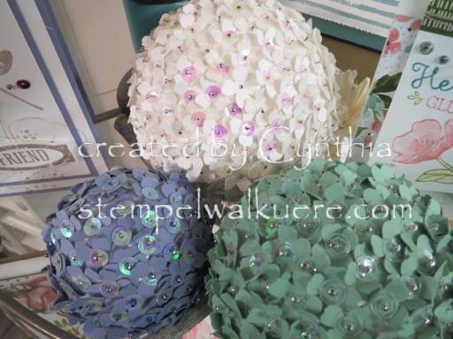 Flower Deko Balls Stempelwalküre 4