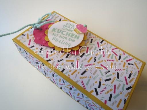 Geburtstag in a Box Stempelwalküre 1