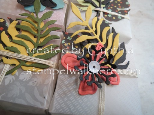 Velum Boxes Botanical Blooms Stempelwalküre 3