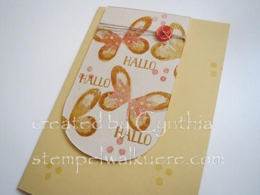 Yellow Hallo Stempelwalküre 2