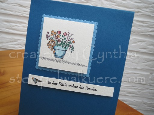 Pot of flowers Stempelwalküre 1b