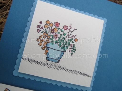 Pot of flowers Stempelwalküre 1f