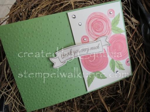 Swirly Flamingo Roses 1