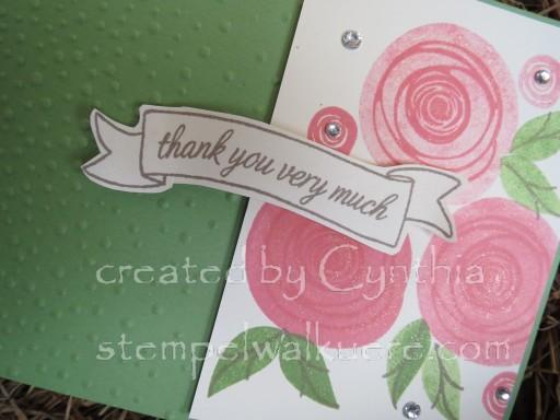 Swirly Flamingo Roses 1b