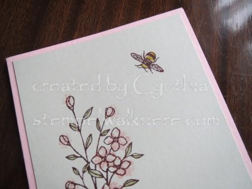 Bee Card Stempelwalküre 1b