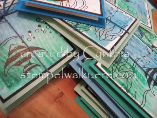 Fish Leporello 10 Stempelwalküre Swap 2016
