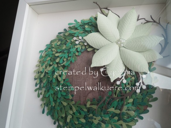 Punch Art Wreath Stempelwalküre 1a